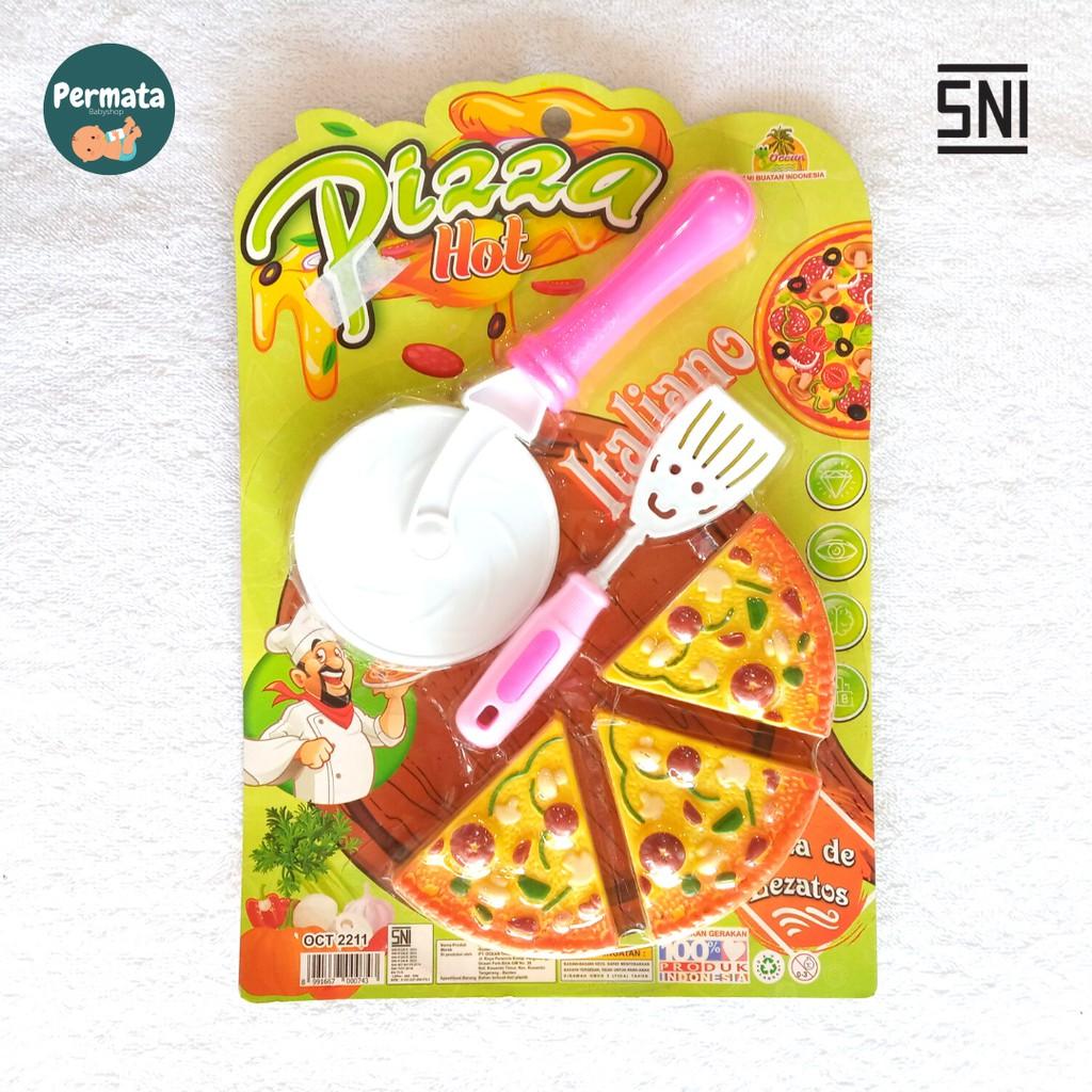 Bộ Đồ Chơi Cắt Bánh Pizza Xinh Xắn Dành Cho Bé Gái