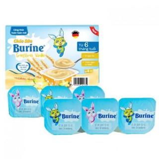 Cháo sữa Burine đủ vị chính hãng [1 Lốc 6 Hủ] thumbnail