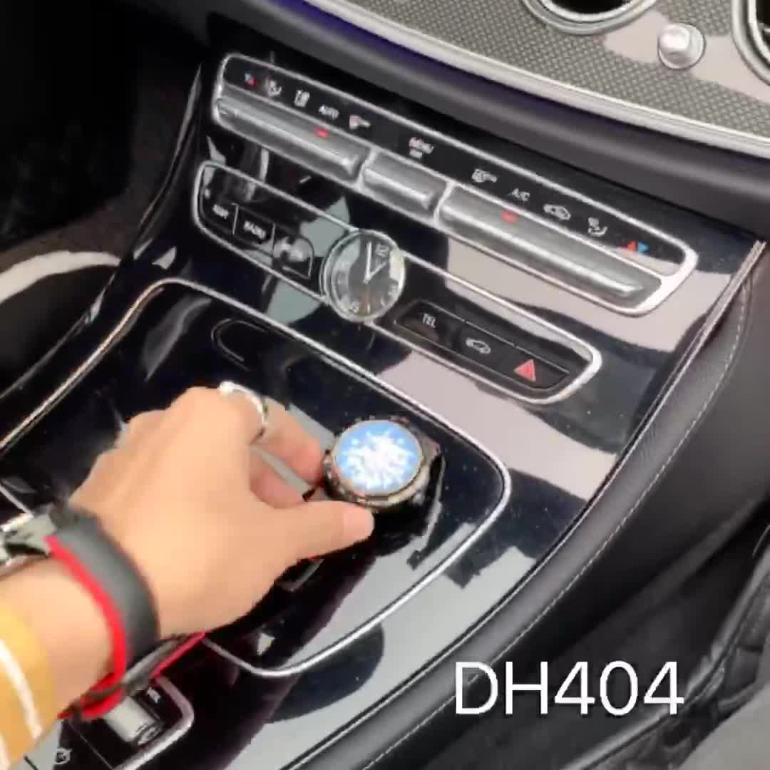 Đồng hồ đeo tay nam - lộ máy cơ 2 mặt - dây da thật - [ fullbox - bảo hành 24 tháng ] - DH404