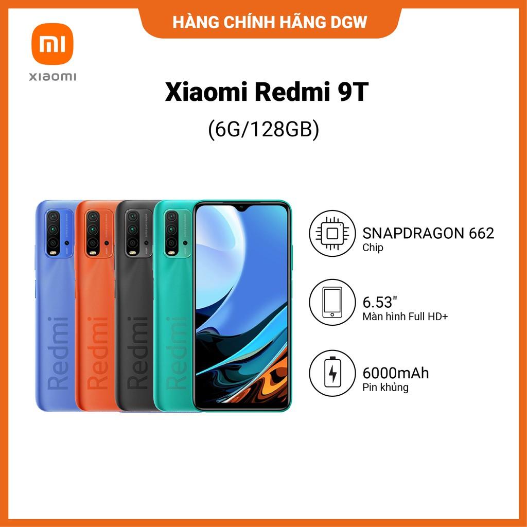 Điện Thoại XIAOMI REDMI 9T | 6GB | 128GB - HÀNG NGUYÊN SEAL (Hàng chính hãng Digiwo