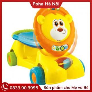 Xe tập đi sư tử kết hợp xe chòi chân, scooter