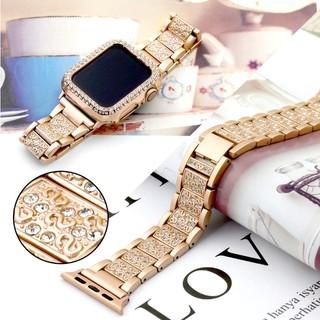 Thời Trang Dây Đeo Inox Cho Đồng Hồ Thông Minh Apple Watch 65432