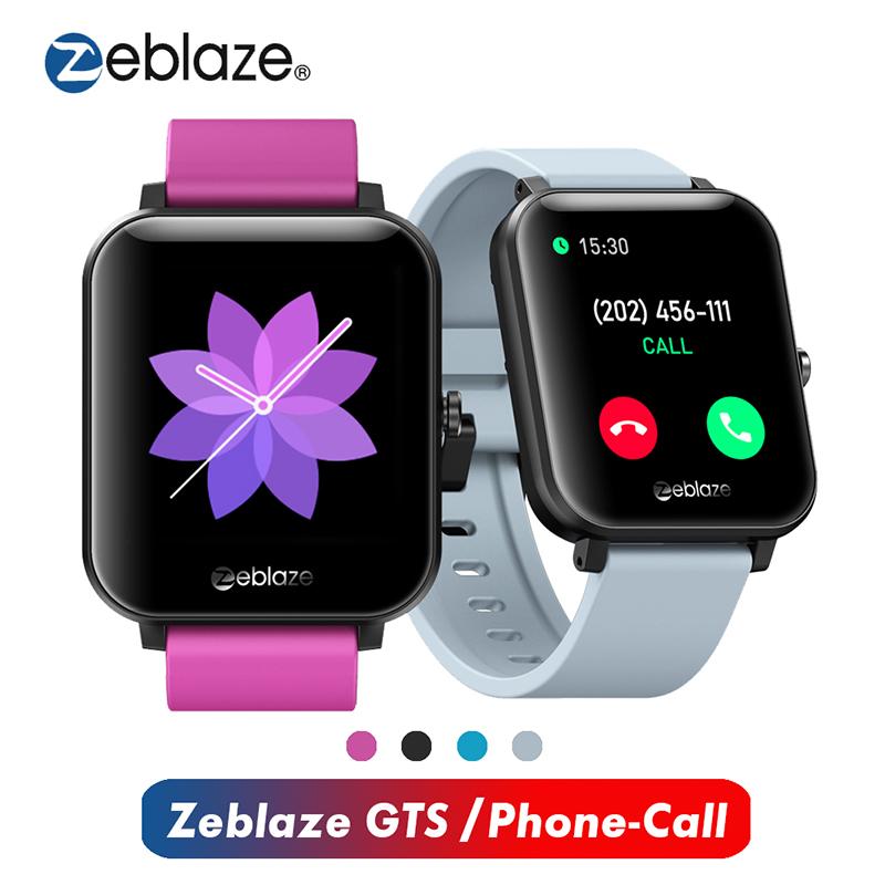 """Đồng hồ thông minh đeo tay Zeblaze GTS Bluetooth 4.0 màn hình cảm ứng HD 1.54"""" theo dõi nhịp tim/huyết áp"""