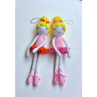 Búp bê handmade-Búp bê ballet xinh-@bellascrochet_corner
