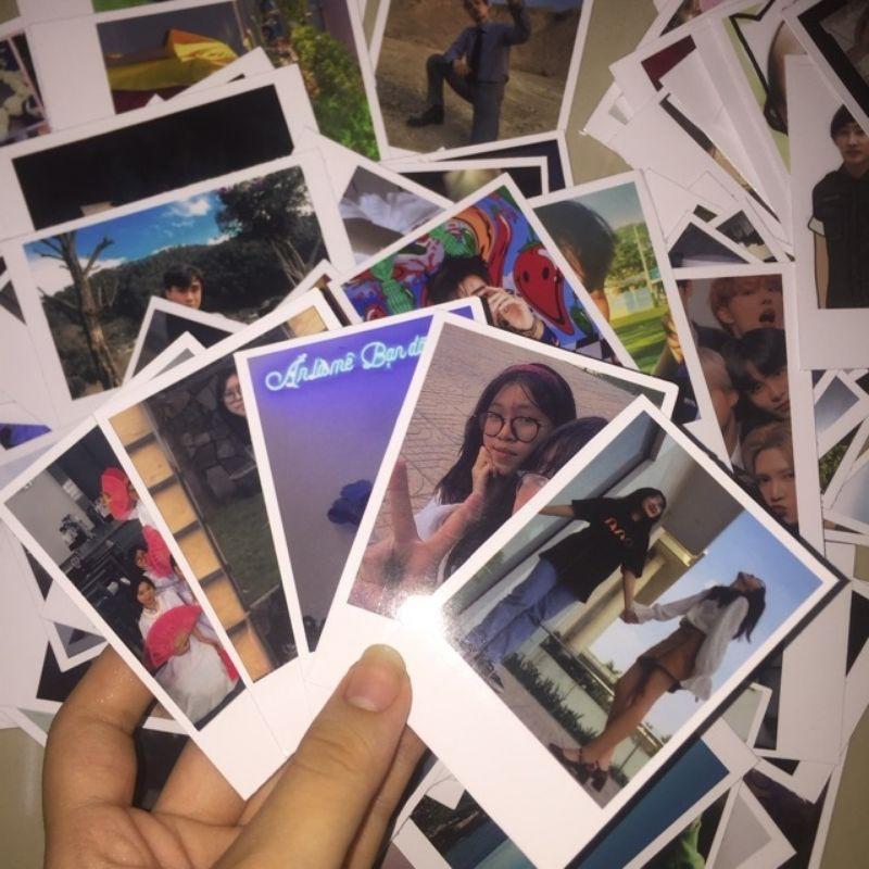 In Ảnh Polaroid 6x9 Theo Yêu Cầu - Ảnh Polaroid Vuông Bỏ Bóp