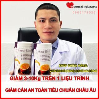 COMBO 2 Sữa Giảm Cân Hera Slimfit 500gr Giảm cân nhanh, giảm cân tại nhà, an toàn thumbnail