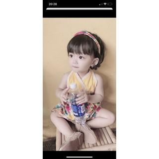 👘Váy bé gái 2 dây [TẶNG KÈM TURBAN] 💞FREESHIP 💞 Đầm thiết kế cho bé từ 0 - 8 tuổi 💗