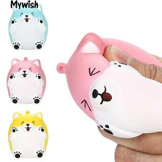 👶Squeeze Cartoon Mouse Slow Rising Soft Decompression Toy Desktop Decoration