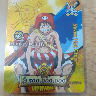 Thẻ tonnies luffy mới