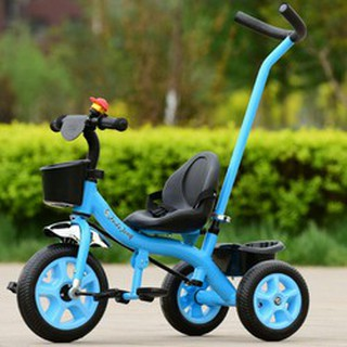 Xe đạp 3 bánh có tay đẩy cho bé