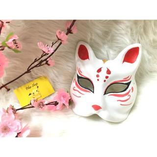 M03 Kitsune mask – mặt nạ cáo cosplay TJ8 ms_z9