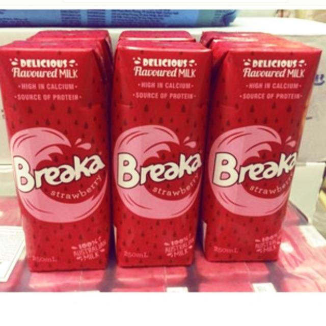 Sữa tươi Breaka vị dâu nội địa Úc hộp 250ml thùng 24 hộp - 3604500 , 1214068809 , 322_1214068809 , 505000 , Sua-tuoi-Breaka-vi-dau-noi-dia-Uc-hop-250ml-thung-24-hop-322_1214068809 , shopee.vn , Sữa tươi Breaka vị dâu nội địa Úc hộp 250ml thùng 24 hộp