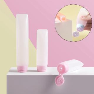 [Hàng mới về] Chai nhựa rỗng chiết kem lotion dầu gội mỹ phẩm trang điểm có nắp đậy dung tích 30ml 50ml thumbnail