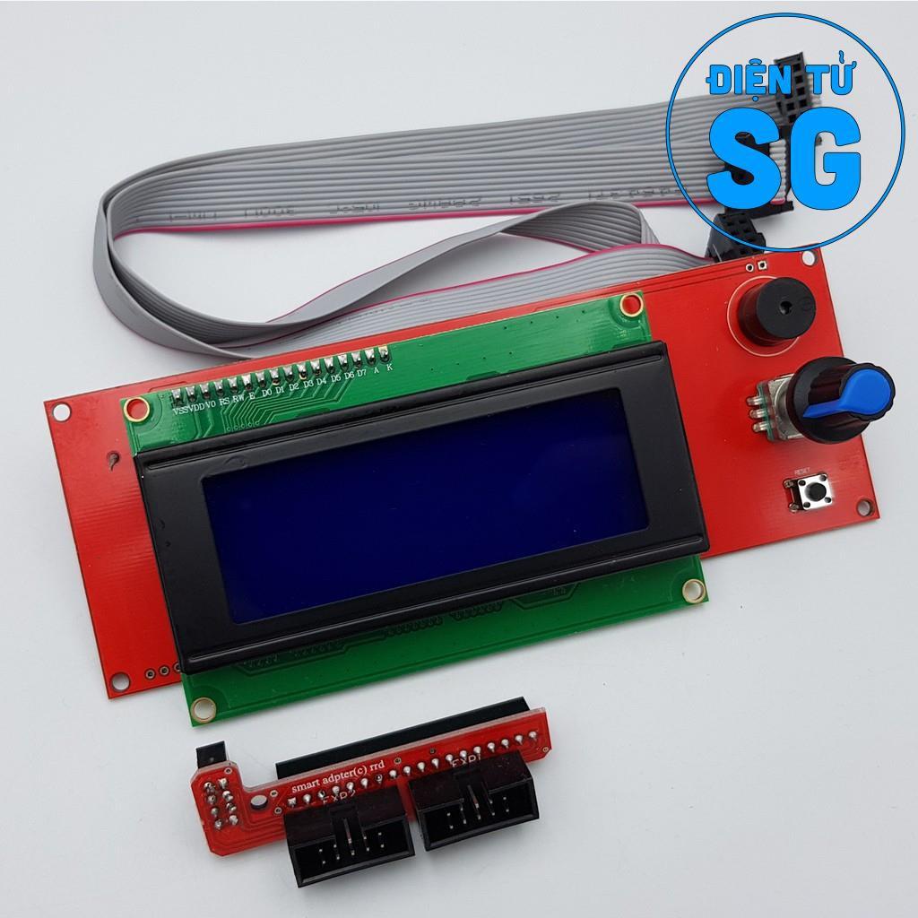 Màn hình LCD 2004 cho máy CNC, in 3D - 2DPP