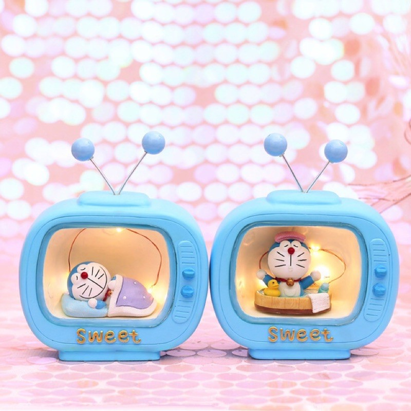 Mô Hình TiVi Có Đèn Ngủ Doremon Doraemon