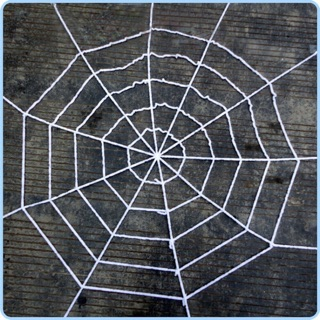 10 vòng HALLOWEEN mạng nhện trang trí