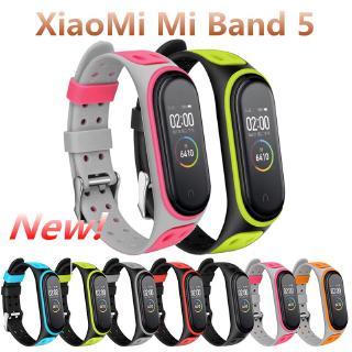 Dây đeo đồng hồ thông minh silicon TPU mềm cho Xiaomi mi band 5 thumbnail