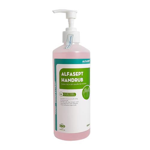 COMBO 1 THÙNG 12 CHAI dung dịch sát khuẩn Alfasept Handrub 500ml ...