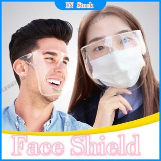 Mặt nạ bảo hộ che toàn diện chống bụi / ánh sáng xanh / thấm nước / sương mù có thể tái sử dụng