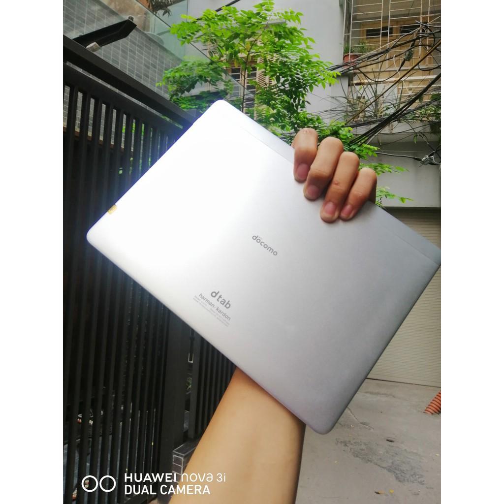 máy tính bảng Huawei Dtab D01H 2/16 Nhập Khẩu Nhật Bản| 4 Loa Harman Kardon