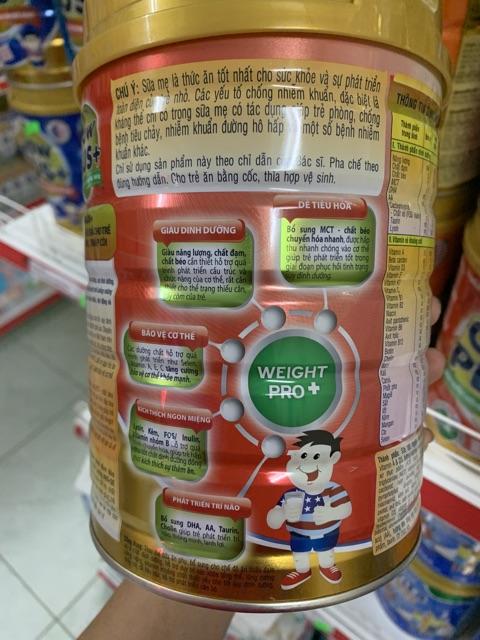 Sưa bột GrowPlus suy dinh dưỡng-900gr