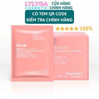Mặt nạ nhau thai cừu cuống rốn tế bào gốc Nhật Bản Rwine Beauty dưỡng da, cung cấp độ ẩm, tái tạo collagen MN01