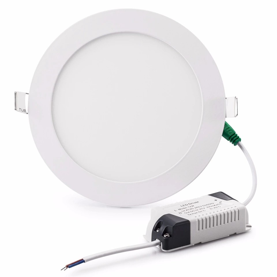 Bóng đèn led âm trần 12W tròn trắng AT12A