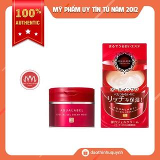 [Có bill Nhật] Kem dưỡng da shiseido aqualabel màu đỏ 5 in 1