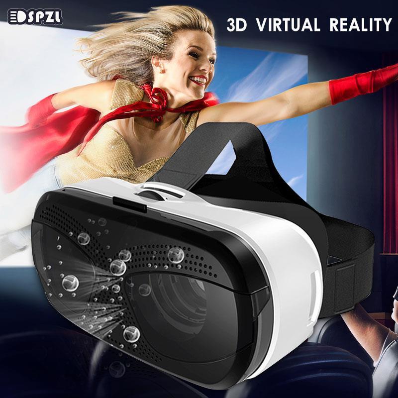 Andriod VR Headset Glasses Virtual Reality Glasses 360 Degree Videos 3D VR Glasses Mobile Phone Focus Adjustment Universal Movie Home...