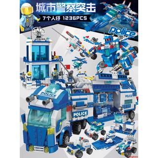 Bộ Lắp Ghép Lego Nhân Vật Cảnh Sát 6 Thành Phố