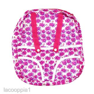 """Rose Doll Carrier Backpack Fits 18"""" Dolls Divided Compartments for Storage"""