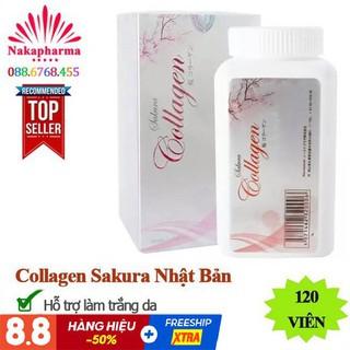 Viên Uống Collagen Sakura Của Nhật 60.000mg – Viên Uống Làm Đẹp Da, Chống Lão Hoá