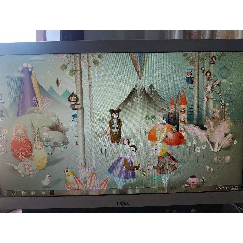 PC, Laptop all in one Fujitsu i5 - 4210M 18 inch độ phân giải full HD
