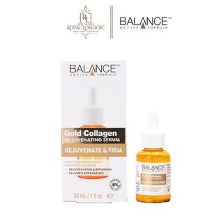 Serum Trẻ Hóa, Tái Tạo Da Balance Active Formula Gold Collagen Rejuvenating 30ml thumbnail