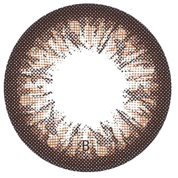 Ống kính lọc màu She Choco công suất cao -10.00 (ART. 975)