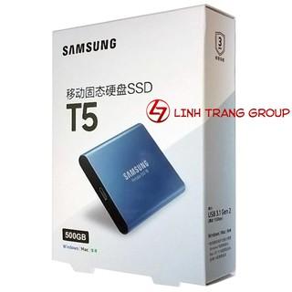 Ổ cứng SSD di động Samsung T5 giao tiếp USB3.1 - bảo hành 3 năm SD47 SD48