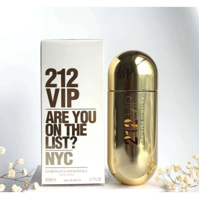 Nước hoa nữ  212 VIP full box