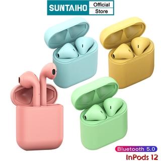 Tai Nghe Suntaiho inPods i12 TWS Cảm Ứng Kết Nối Bluetooth Phiên Bản 5.0
