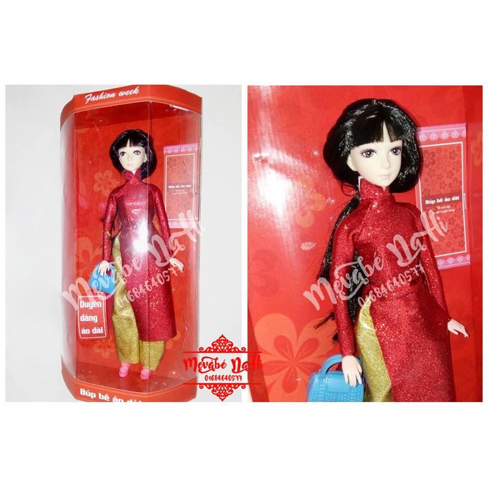 Búp bê áo dài - Búp bê Barbie có khớp mặc áo dài đỏ: Hàng Việt Nam - 2446326 , 197938391 , 322_197938391 , 150000 , Bup-be-ao-dai-Bup-be-Barbie-co-khop-mac-ao-dai-do-Hang-Viet-Nam-322_197938391 , shopee.vn , Búp bê áo dài - Búp bê Barbie có khớp mặc áo dài đỏ: Hàng Việt Nam