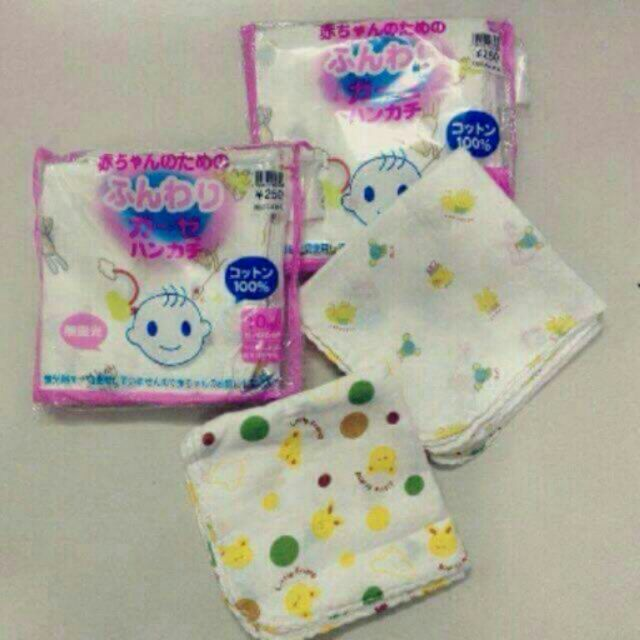 3 gói khăn xô hoa xuất nhật in hình cao cấp xuất Nhật