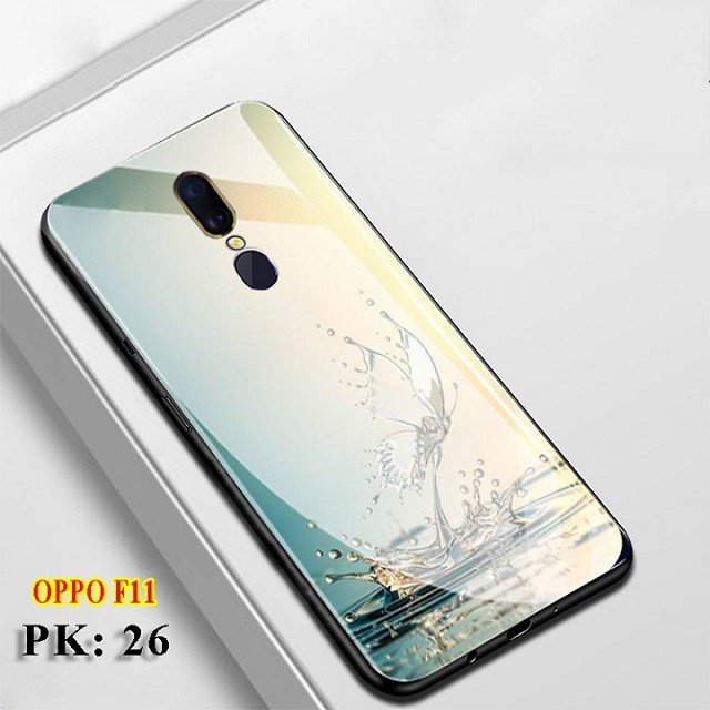 [Free Ship]  Ốp lưng Oppo F11 và ốp điện thại Oppo F11 Pro - Mặt lưng kính KÍNH IN HÌNH chống trầy xước, đẹp, cao cấp 5*
