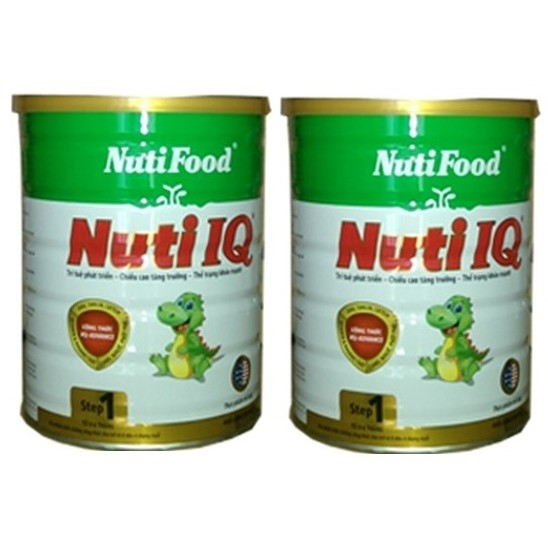 Combo 2 hộp Sữa bột Nutifood Nuti IQ step 1 900g
