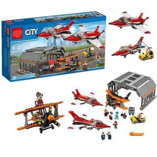 Bộ lắp ráp lego kiểu city cities 02007 – Triển lãm hàng không