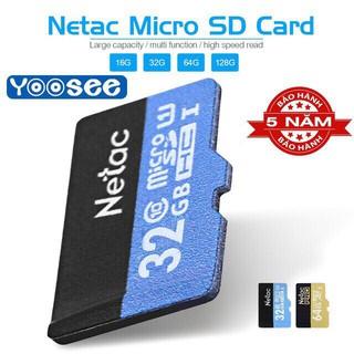 Thẻ nhớ NETAC 32GB Chính hãng – Bảo hành 5 năm
