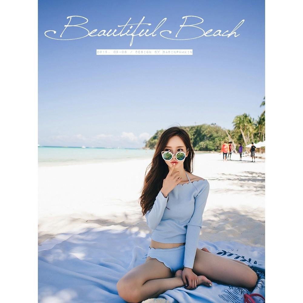 Bikini 3 mảnh áo chễ vai - 2492139 , 312585697 , 322_312585697 , 300000 , Bikini-3-manh-ao-che-vai-322_312585697 , shopee.vn , Bikini 3 mảnh áo chễ vai