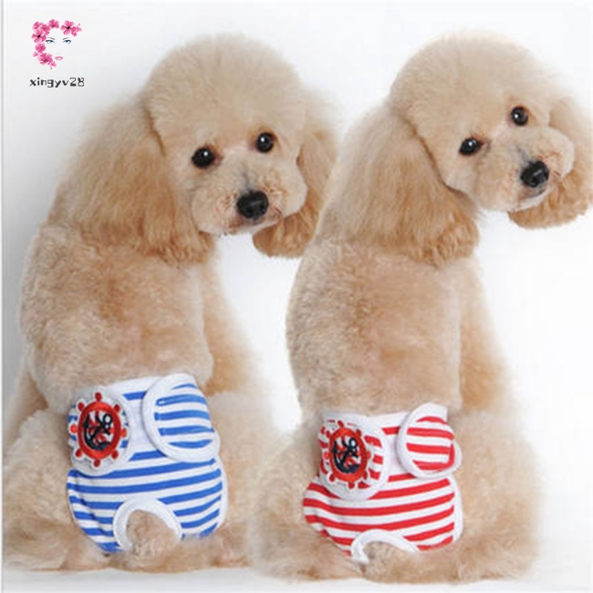 Cute Pet Dog Physiological Pants Sanitary Pants for Female Dog Underwear