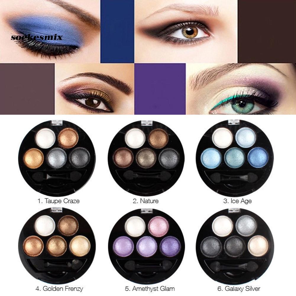 SOC_Professional Matte Eyes Makeup Pigment Eyeshadow Palette Waterproof Cosmetics