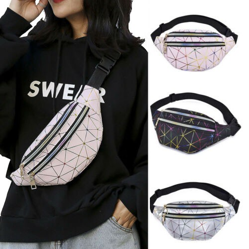 Túi đeo hông thiết kế đơn giản phong cách Hàn Quốc cho nữ