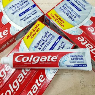 kem đánh răng Colgate Baking Soda & Peroxide White 232g