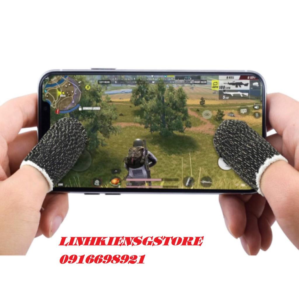Combo Bộ bao 2 ngón tay chuyên dụng chơi game mobile chống ra mồ hôi tay